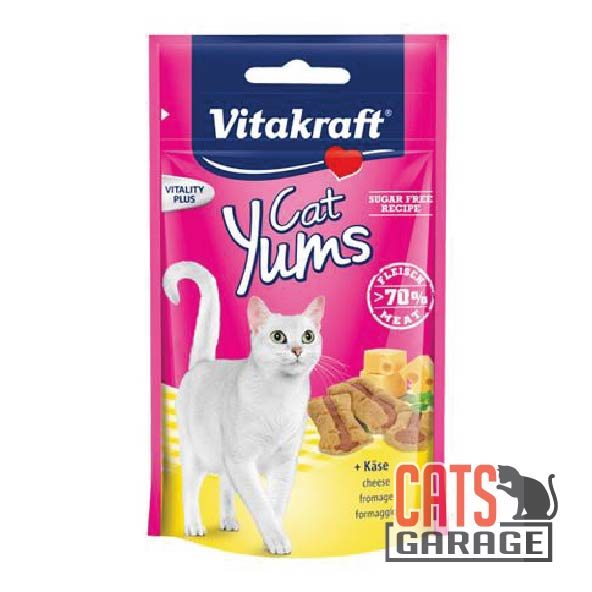 Vitakraft Cat Yums - Cheese 40g