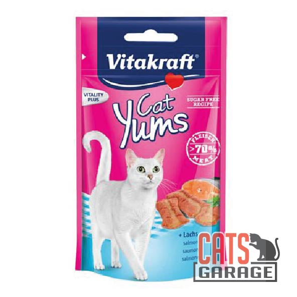 Vitakraft Cat Yums - Salmon & Omega3 40g