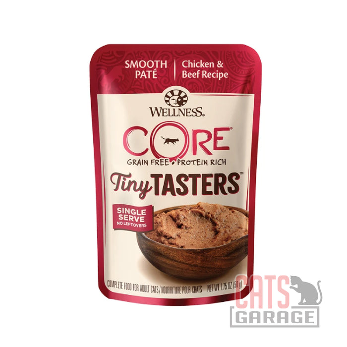 Wellness Core Tiny Tasters - Chicken & Beef 1.75oz pouch