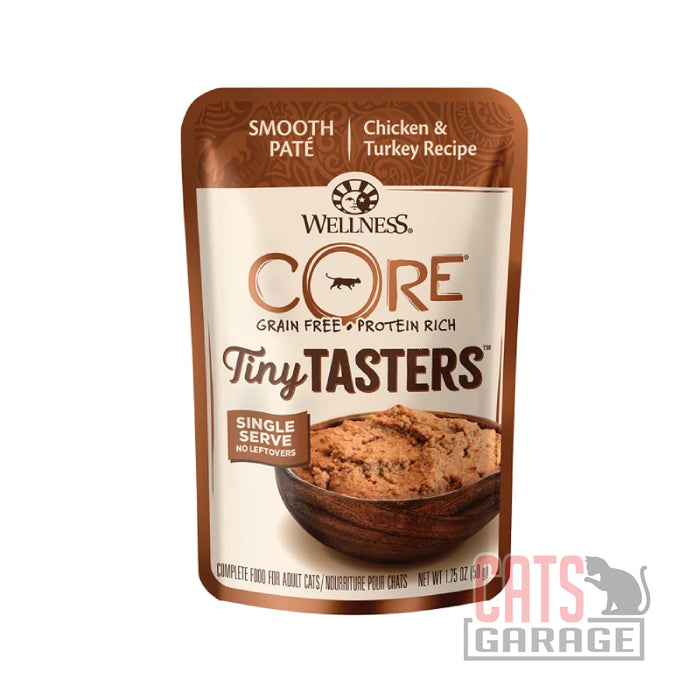 Wellness Core Tiny Tasters - Chicken & Turkey 1.75oz pouch
