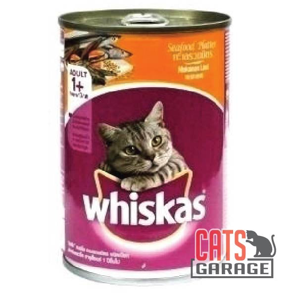 Whiskas - Seafood Platter 400g (24 Cans)