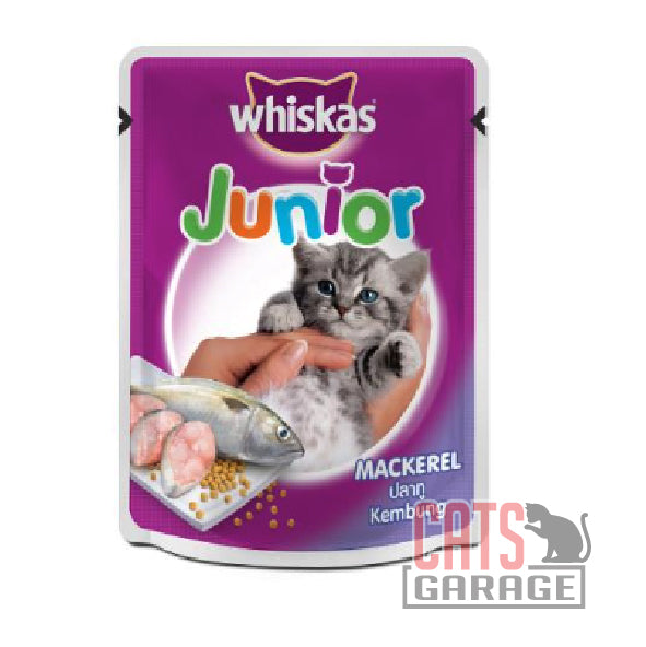 Whiskas Pouch - Junior Mackerel 85g