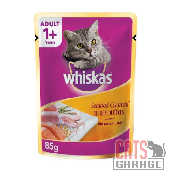 Whiskas® Pouch - Seafood Cocktail 85g