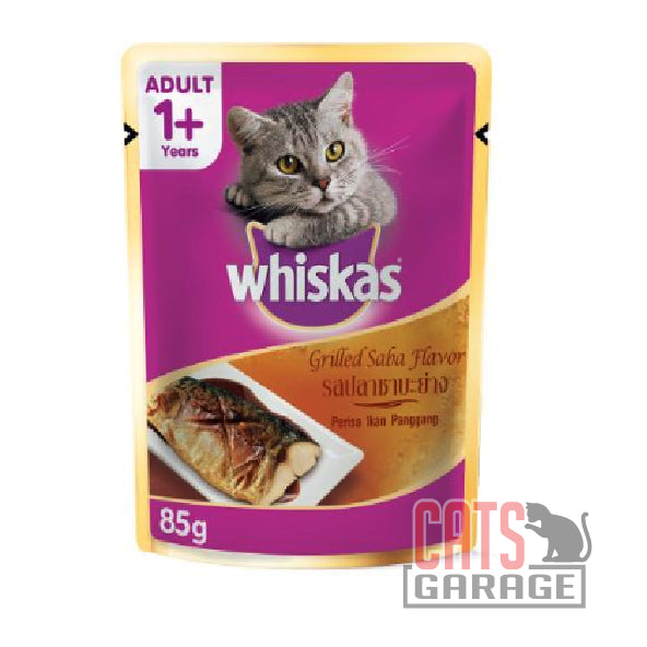 Whiskas® Pouch - Grilled Saba 85g