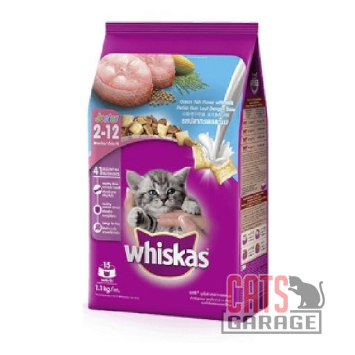 Whiskas Junior - Ocean Fish with Milk (2 Sizes)