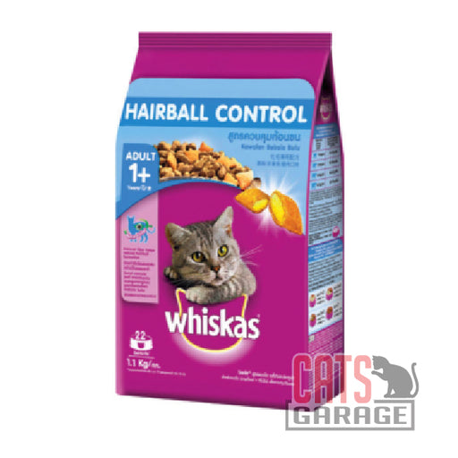 Whiskas - Chicken & Tuna (Hairball Control) (2 Sizes)