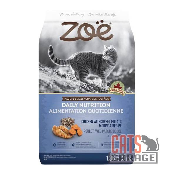 ZOE Daily Nutrition - Chicken with Sweet Potato & Quinoa Recipe (2 Sizes)