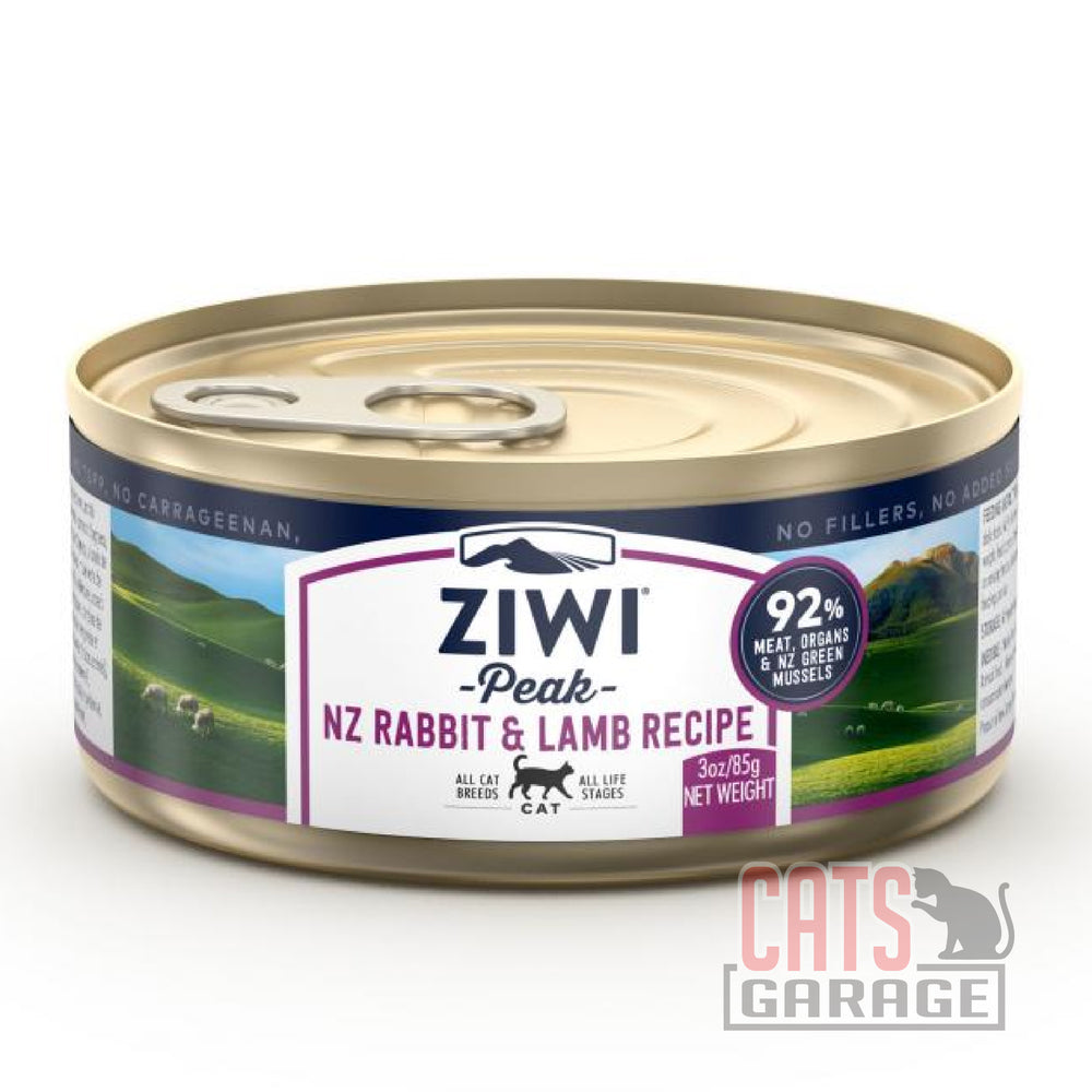 Ziwi Peak - Rabbit & Lamb Grain Free 85g Cat Wet Food (12 Cans)