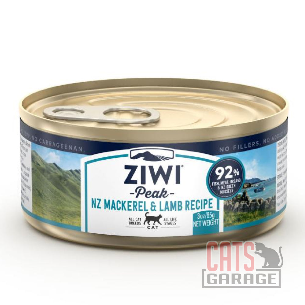 Ziwi Peak - Mackerel & Lamb Grain Free 85g (12 Cans)