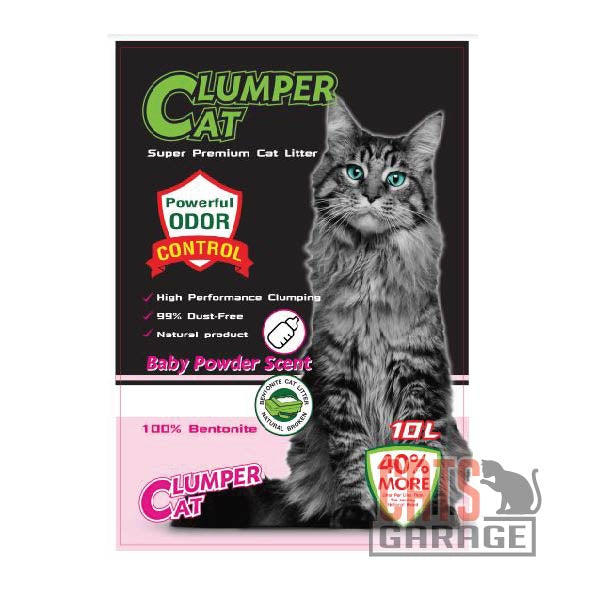 Clumper Cat - Baby Powder 10L