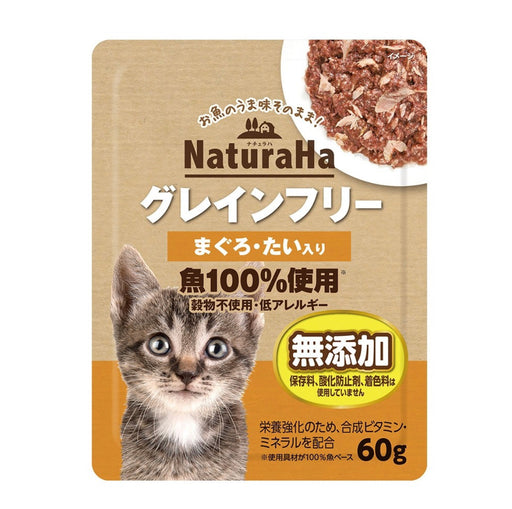 Sunrise Naturaha Bonito Tuna Wet Food for Cat 60g X6