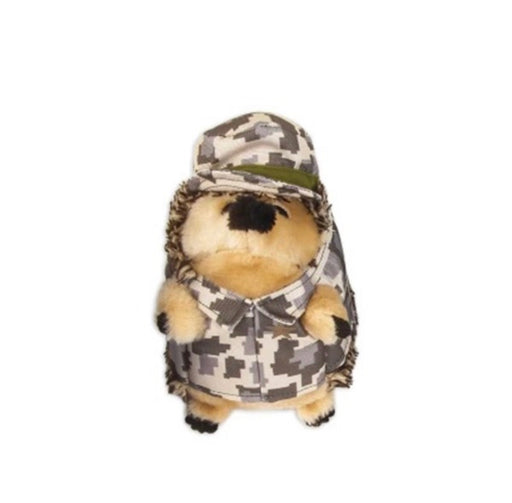 Petmate Zoobilee Heggies Dog Toy - Army