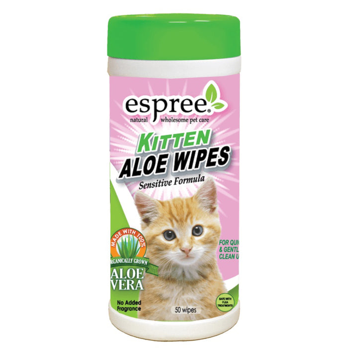 Espree® - Kitten Aloe 50 Wipes