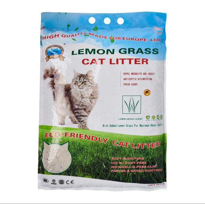 Hello Cat Litter - Lemongrass 10L