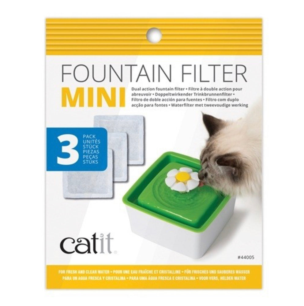 Catit® - Mini Fountain Filters - 3 pack
