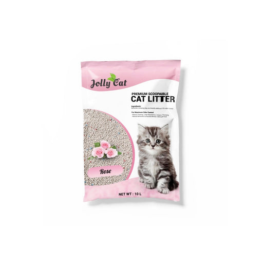 Jolly Cat - Bentonite Litter 10L Rose