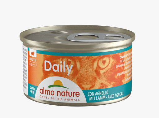 Almo Nature - Cat Daily Mousse Lamb 85g (24 Cans)