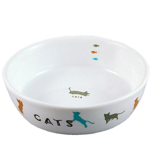 Marukan Porcelain Feeder for Cats
