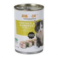 Sumo Cat® - Chunky Sardine in Jelly 400g X24