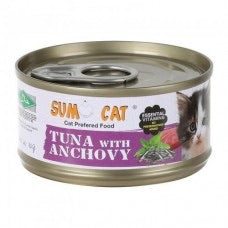 Sumo Cat® - Tuna with Anchovy 80g X24