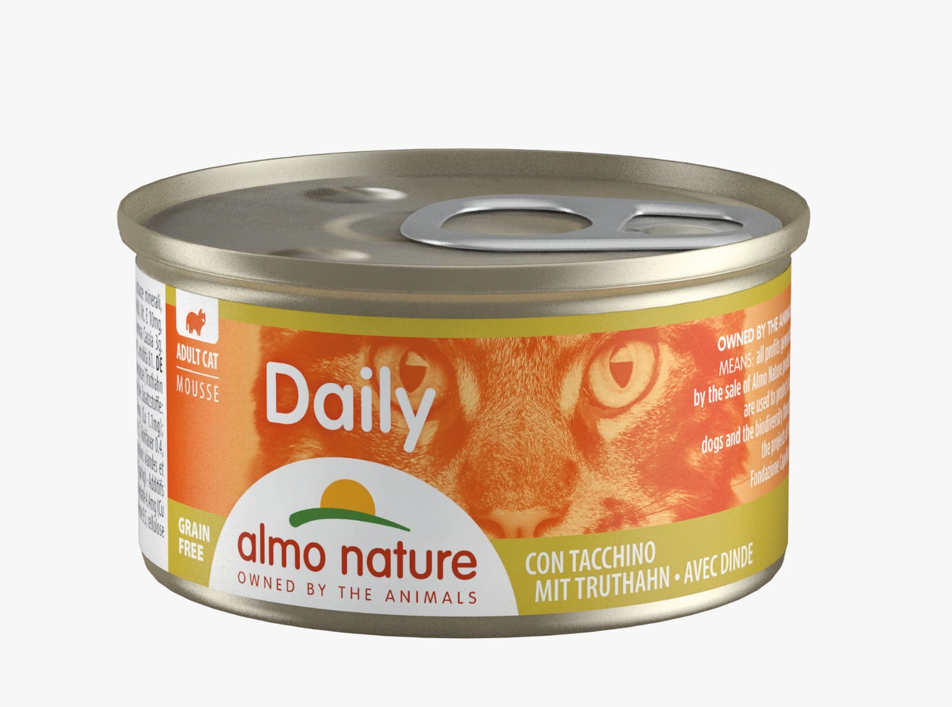 Almo Nature - Cat Daily Mousse Turkey 85g (24 Cans)