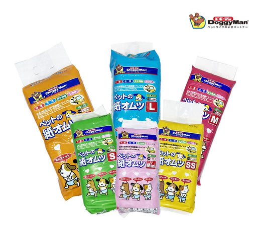 [CLEARANCE] DoggyMan Pet Diapers (6 Sizes)
