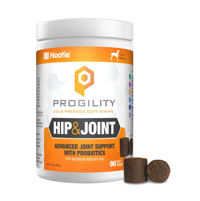 Nootie™ Progility Hip & Joint with Probiotics 90 Soft Chews