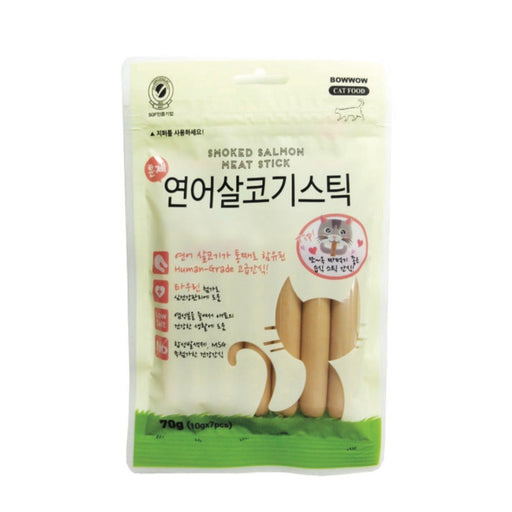 Bowwow Korea - Smoked Salmon Meat Stick 70g