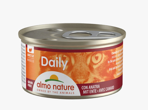 Almo Nature - Cat Daily Mousse Duck 85g (24 Cans)