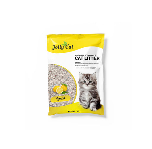 Jolly Cat - Bentonite Litter 10L Lemon