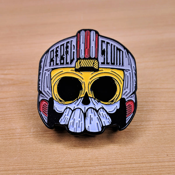 Rebel Scum Enamel Pin - 1.5""
