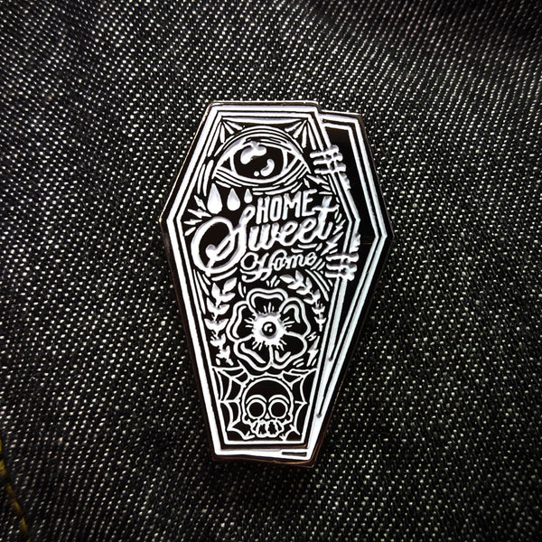 Home Sweet Home Enamel Pin