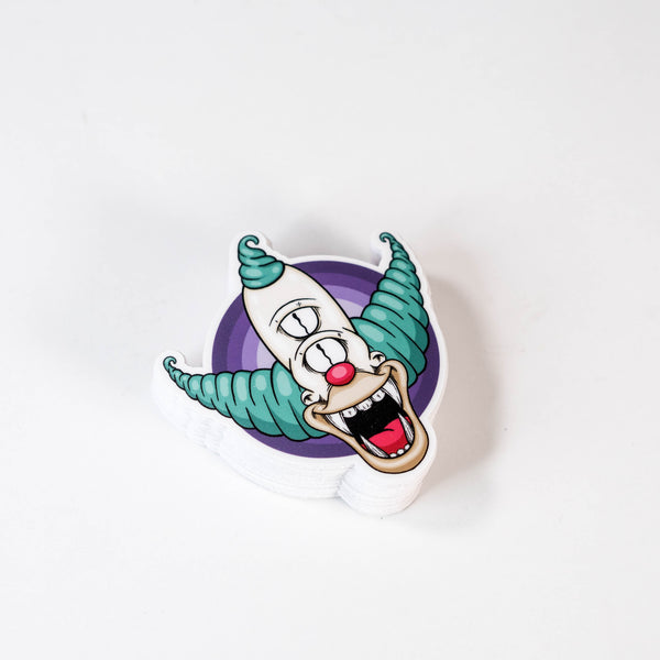 Krusty The Clown Sticker