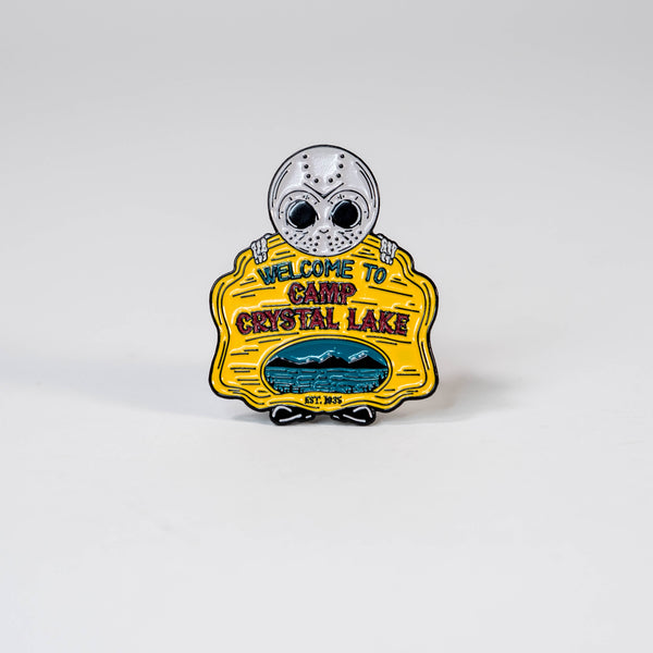 Camp Crystal Lake Enamel Pin