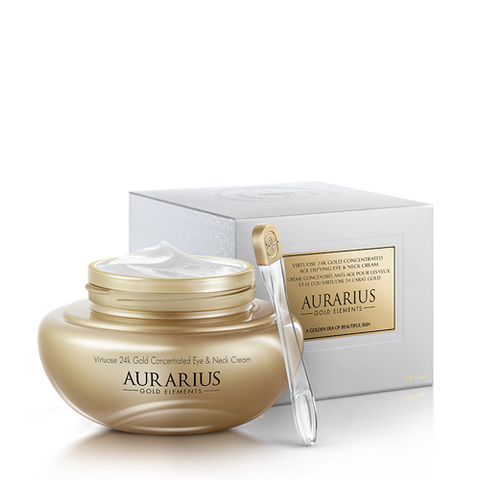 Virtuose 24k Gold Concentrated Age Defying Augen- und Hals-Creme
