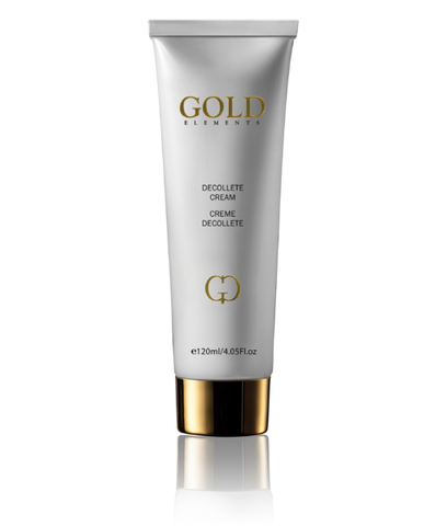 24K Gold Elements luxuriöse, bio & VEGANE Dekolleté Creme