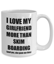 Load image into Gallery viewer, Skim Boarding Boyfriend Mug Funny Valentine Gift Idea For My Bf Lover From Girlfriend Coffee Tea Cup-Coffee Mug