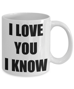 Leia I Love You Mug Funny Gift Idea Novelty Gag Coffee Tea Cup-Coffee Mug