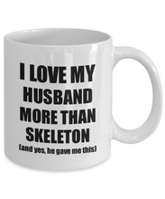 Load image into Gallery viewer, Skeleton Wife Mug Funny Valentine Gift Idea For My Spouse Lover From Husband Coffee Tea Cup-Coffee Mug