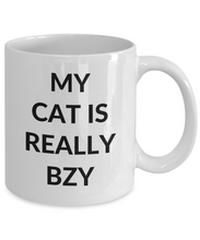 Load image into Gallery viewer, Bzy Cat Mug Funny Gift Idea for Novelty Gag Coffee Tea Cup-[style]