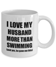 Load image into Gallery viewer, Swimming Wife Mug Funny Valentine Gift Idea For My Spouse Lover From Husband Coffee Tea Cup-Coffee Mug
