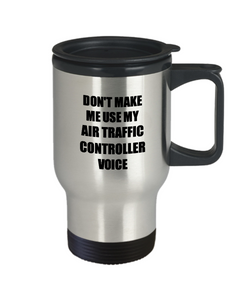 Air Traffic Controller Travel Mug Coworker Gift Idea Funny Gag For Job Coffee Tea 14oz Commuter Stainless Steel-Travel Mug