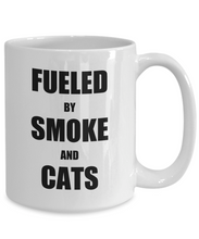 Load image into Gallery viewer, Cat Smoke Mug Funny Gift Idea for Novelty Gag Coffee Tea Cup-Coffee Mug