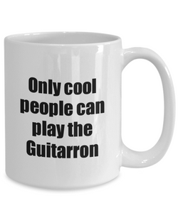Guitarron Player Mug Musician Funny Gift Idea Gag Coffee Tea Cup-Coffee Mug