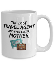 Load image into Gallery viewer, Travel Agent Mom Mug Best Mother Funny Gift for Mama Novelty Gag Coffee Tea Cup-Coffee Mug