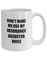 Load image into Gallery viewer, Insurance Adjuster Mug Coworker Gift Idea Funny Gag For Job Coffee Tea Cup-Coffee Mug