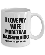 Load image into Gallery viewer, Racewalking Husband Mug Funny Valentine Gift Idea For My Hubby Lover From Wife Coffee Tea Cup-Coffee Mug