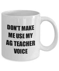 Ag Teacher Mug Coworker Gift Idea Funny Gag For Job Coffee Tea Cup-Coffee Mug