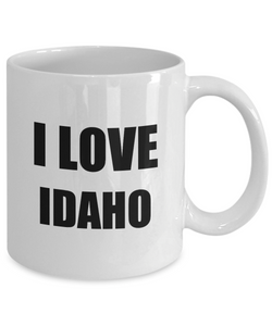 I Love Idaho Mug Funny Gift Idea Novelty Gag Coffee Tea Cup-Coffee Mug