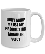 Load image into Gallery viewer, Production Manager Mug Coworker Gift Idea Funny Gag For Job Coffee Tea Cup-Coffee Mug